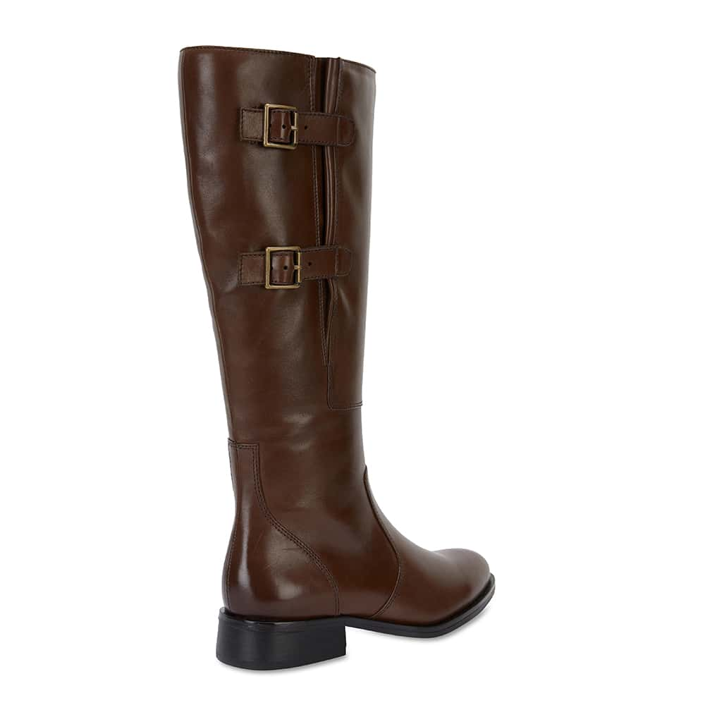 Jerome Boot in Brown Leather