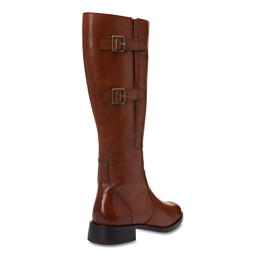 Jerome Boot in Mid Brown Leather