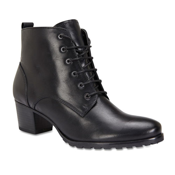 Kakadu Boot in Black Leather