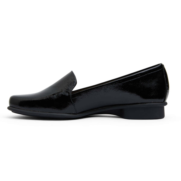 Knox Flat in Black Patent