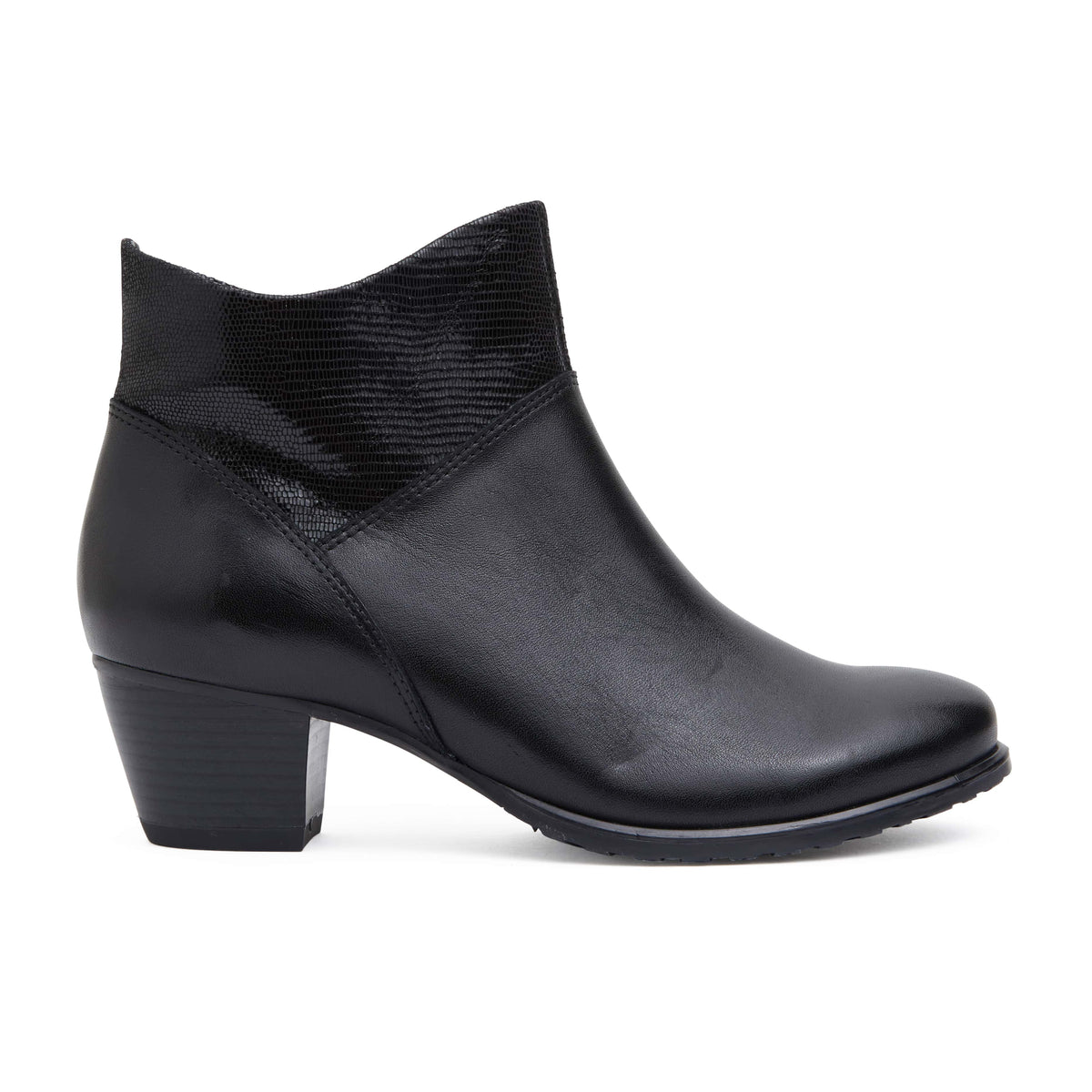 Laredo Boot in Black Leather