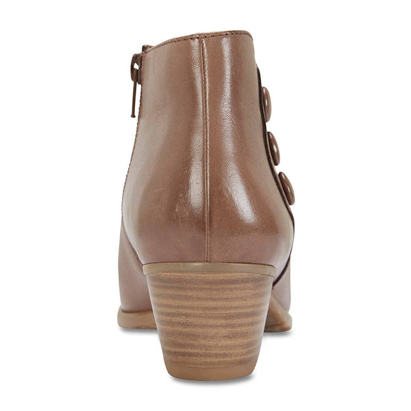 Lennon Boot in Taupe Leather