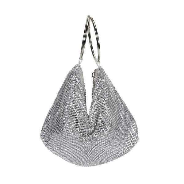 Lia Handbag in Silver