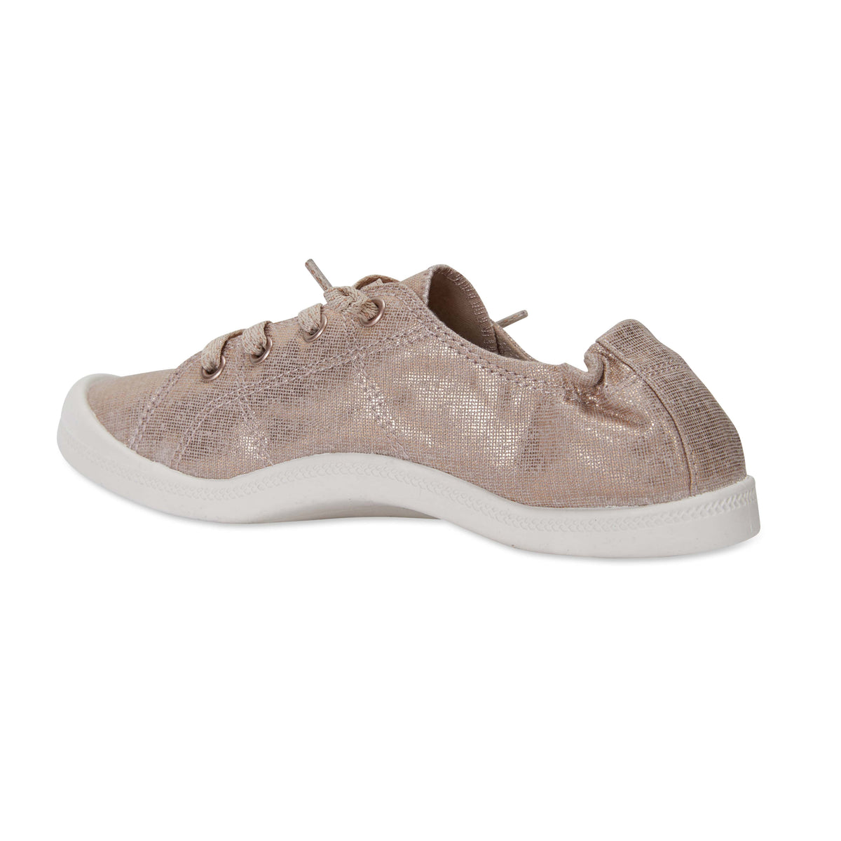 Link Sneaker in Rose Gold Fabric