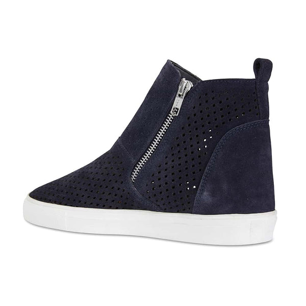 Loyal Boot in Navy Smooth