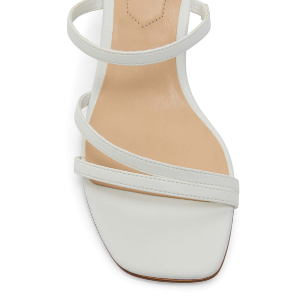 Marilyn Heel in White Smooth