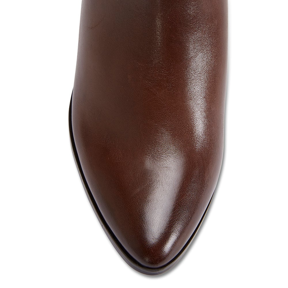 Moscow Boot in Brown Leather