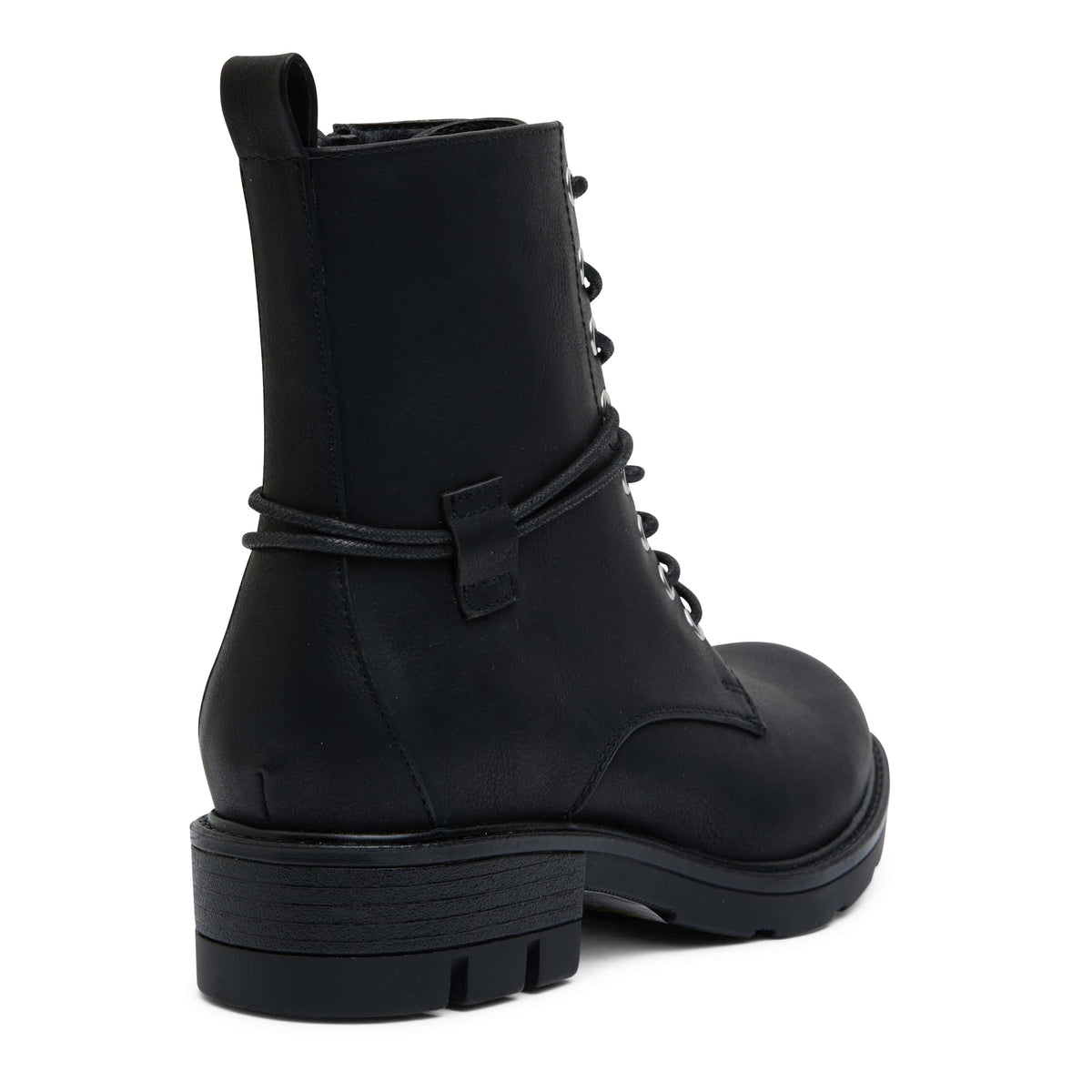 Nara Boot in Black Smooth