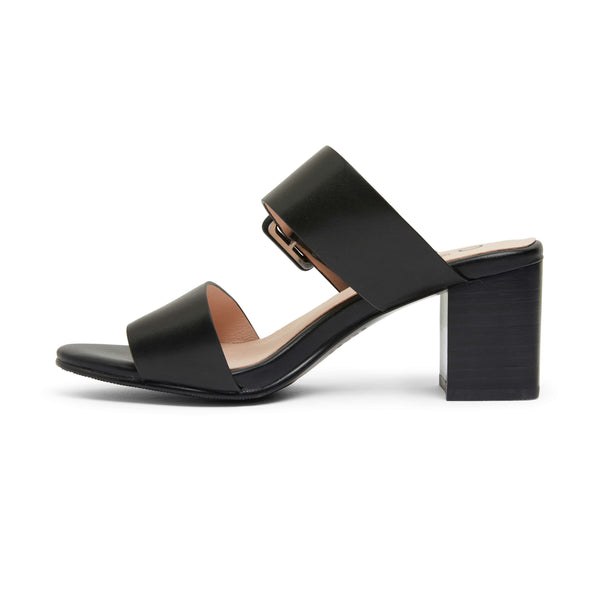 Nate Heel in Black Leather