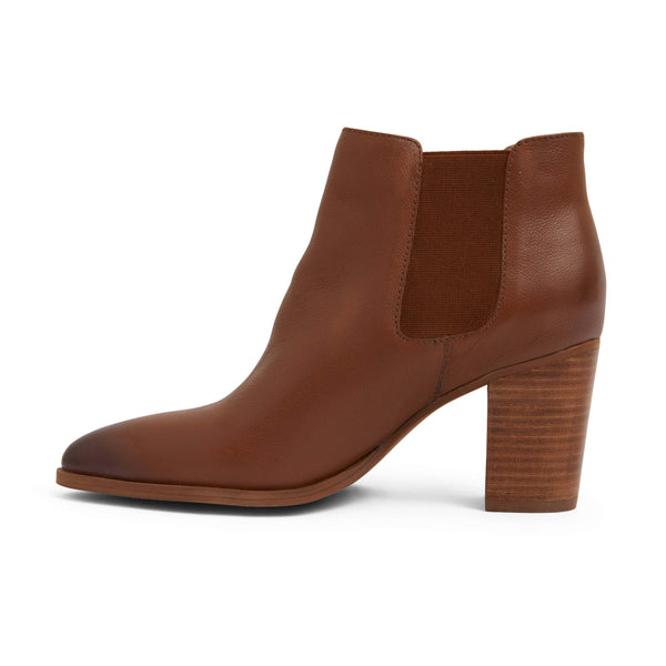 Neddy Boot in Tan Leather