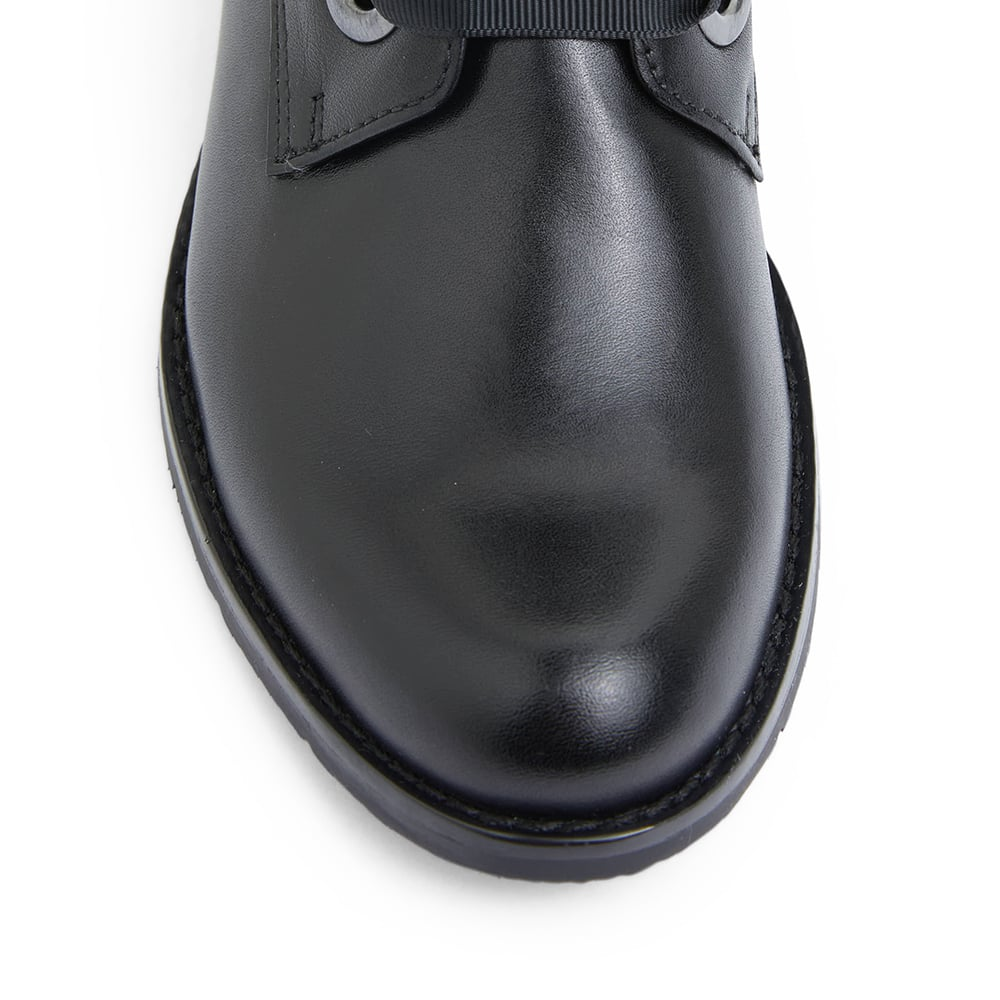 Nimble Boot in Black Leather