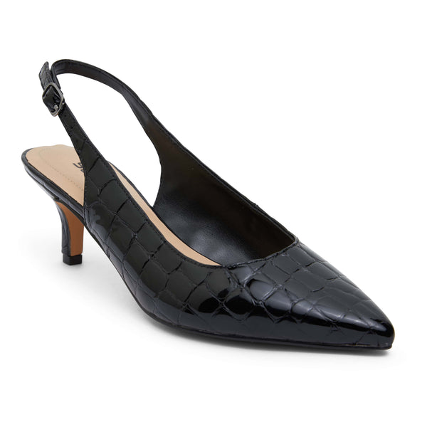 Nina Heel in Black Patent