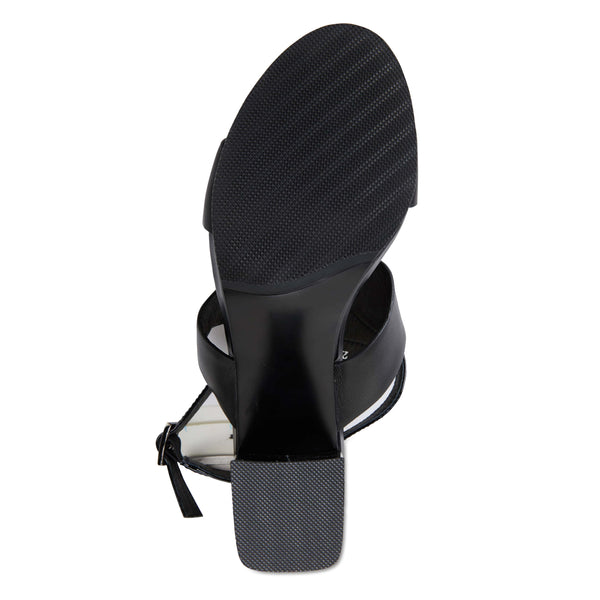 Nitro Heel in Black Patent