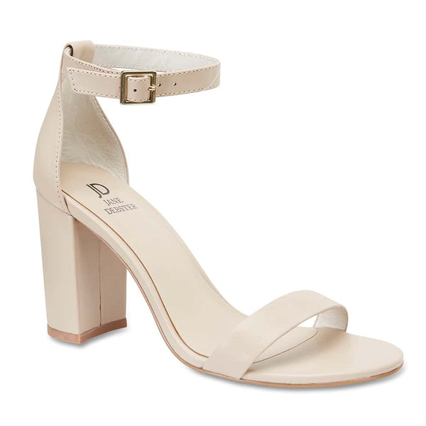 Odyssey Heel in Nude Leather