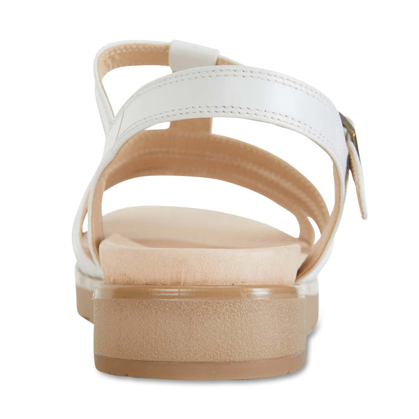 Ohio Sandal in White Leather