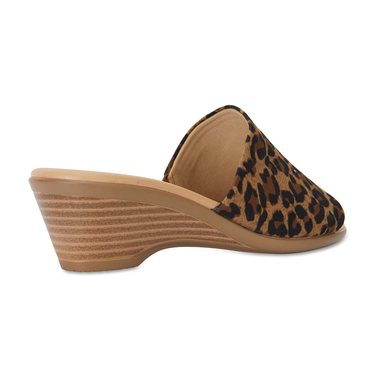 Orient Heel in Animal Fabric