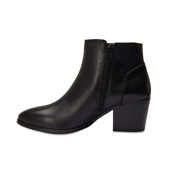 Osborne Boot in Black Leather