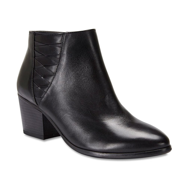 Oxford Boot in Black Leather
