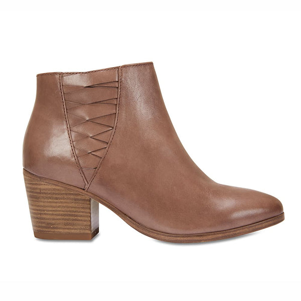 Oxford Boot in Taupe Leather