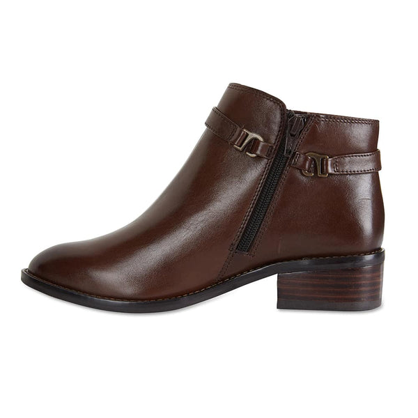 Parker Boot in Brown Leather