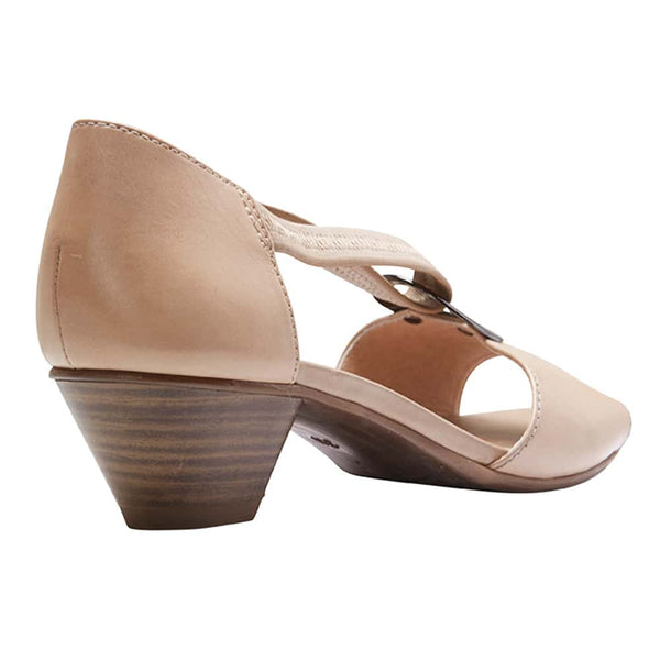 Praise Heel in Neutral Leather