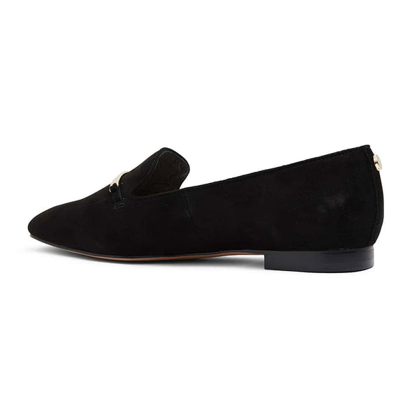 Quantum Loafer in Black Suede