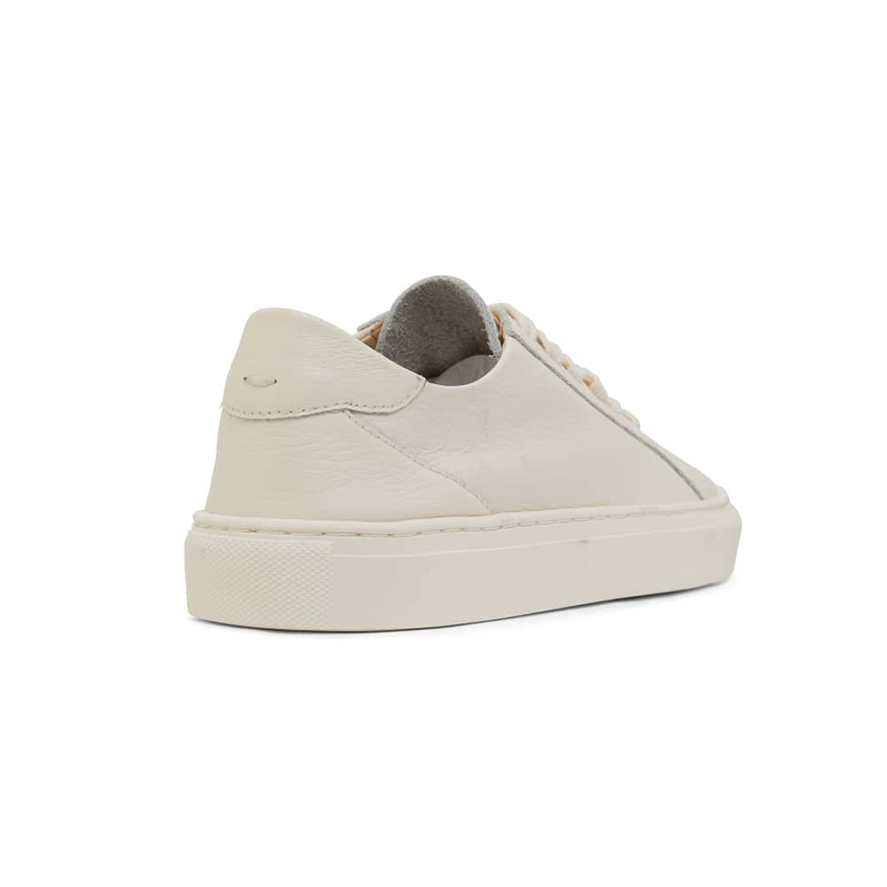 Reese Sneaker in Cream  Leather