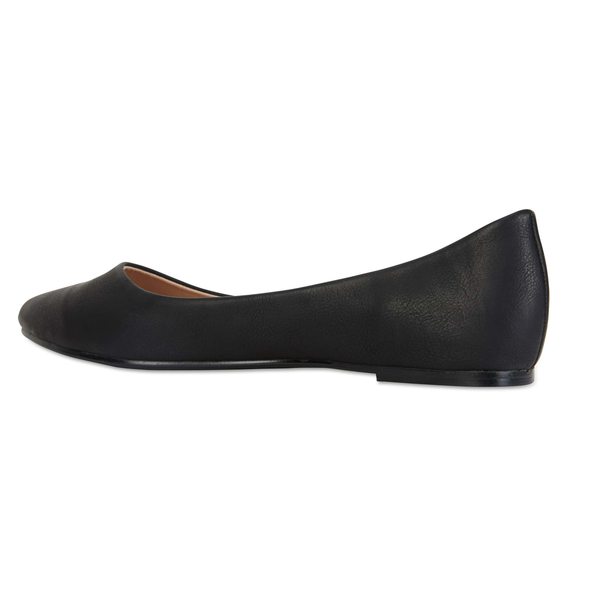 Reuben Flat in Black Smooth