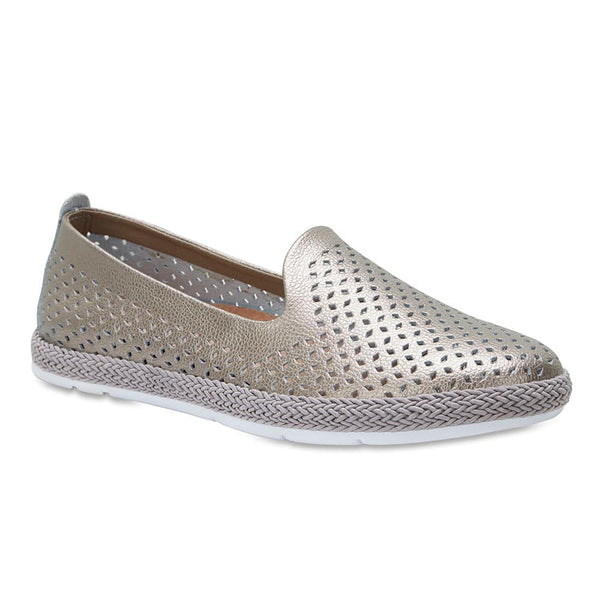 Ricky Loafer in Pewter Leather