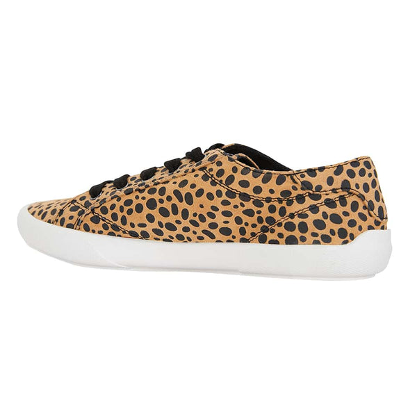 Riddle Sneaker in Cheetah Canvas