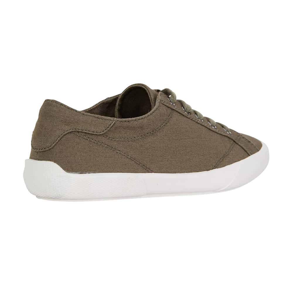Riddle Sneaker in Khaki Canvas