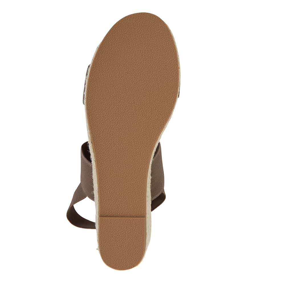 Sail Espadrille in Khaki Fabric