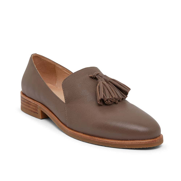 Salvador Loafer in Taupe Leather