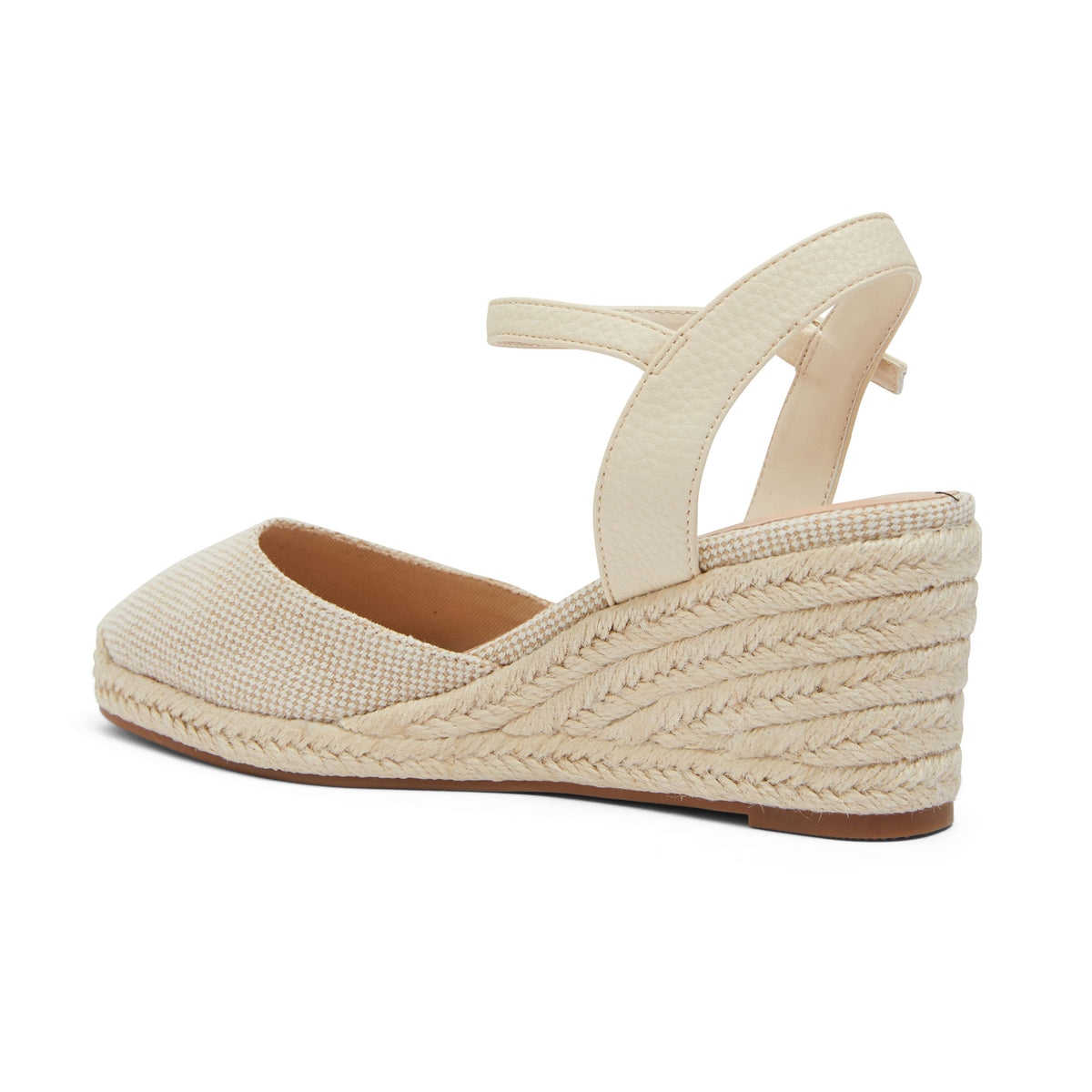 Santos Espadrille in Natural Fabric