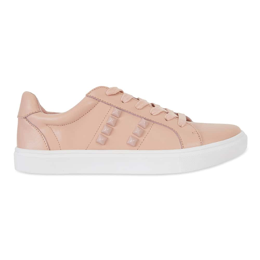 Savage Sneaker in Blush Leather