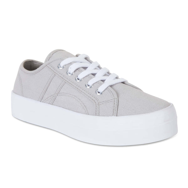 Scott Sneaker in Grey Canvas