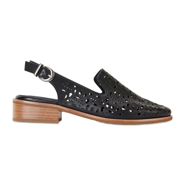 Scribe Loafer in Black Leather
