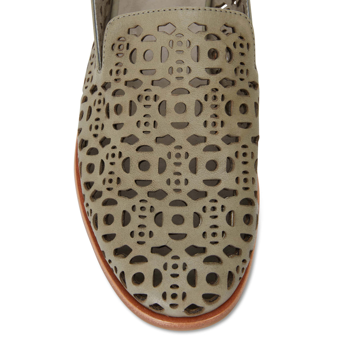 Scribe Loafer in Khaki Leather