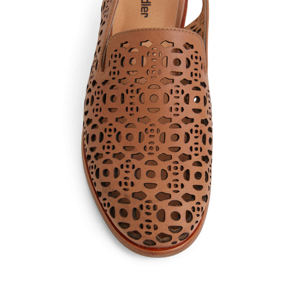 Scribe Loafer in Tan Leather