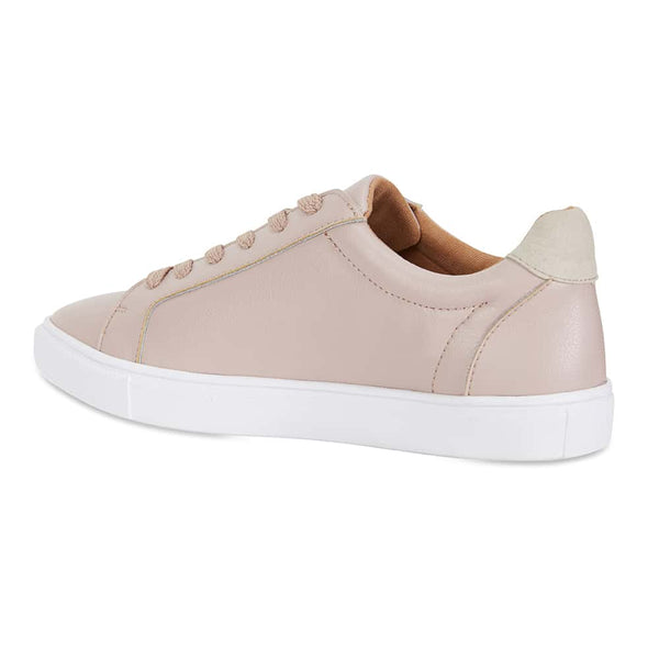 Serena Sneaker in Blush Leather