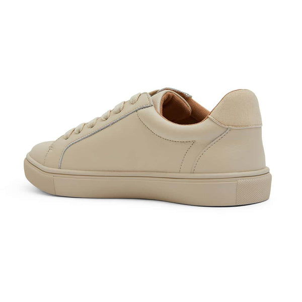 Serena Sneaker in Ivory Leather