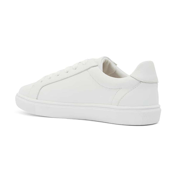 Shazam Sneaker in White Leather