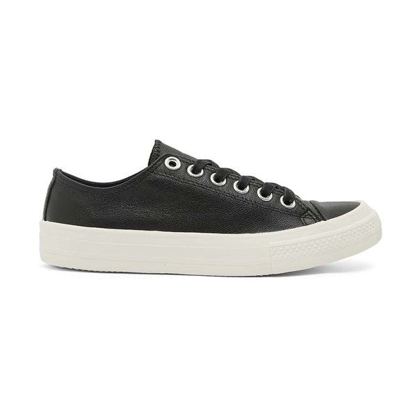 Sheldon Sneaker in Black Leather