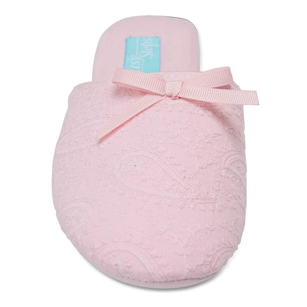 Siam Slipper in Light Pink Fabric