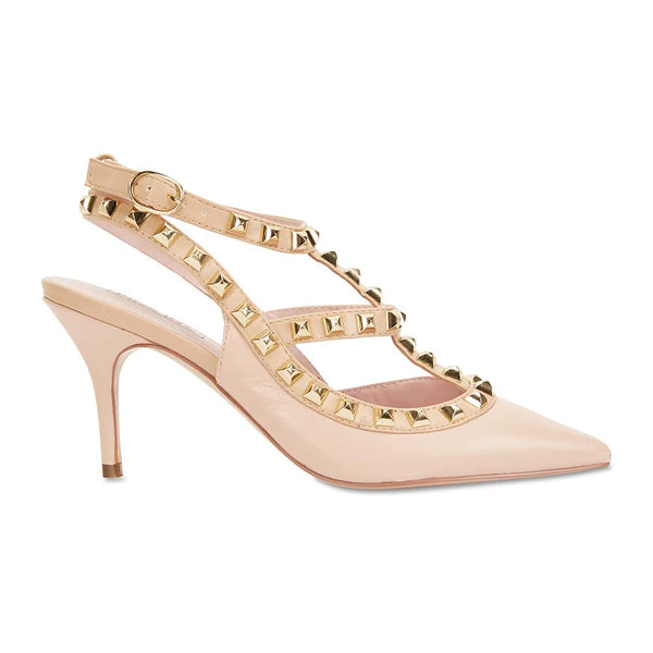 Sphinx Heel in Soft Pink Leather