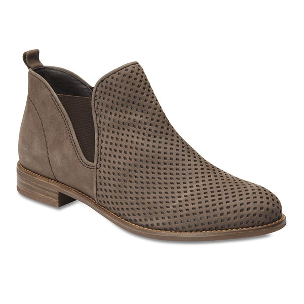Stanford Boot in Grey Nubuck