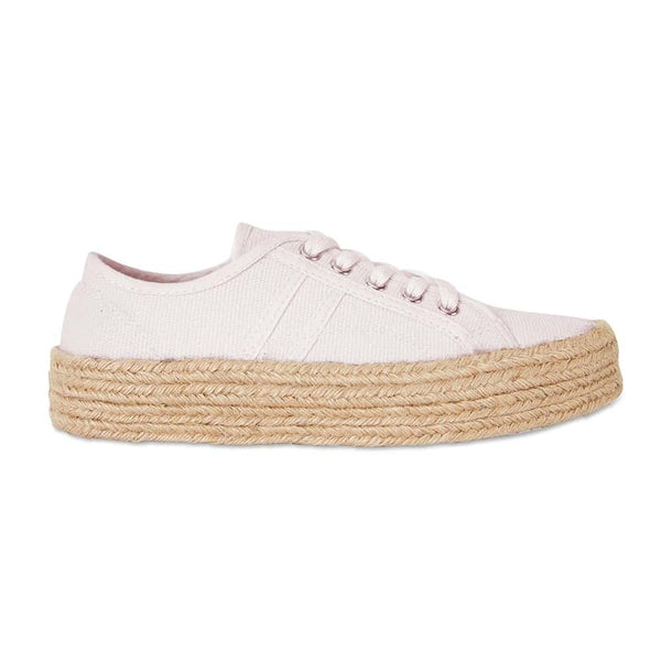 Static Sneaker in Blush Canvas