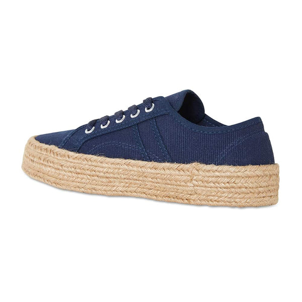 Static Sneaker in Navy Canvas