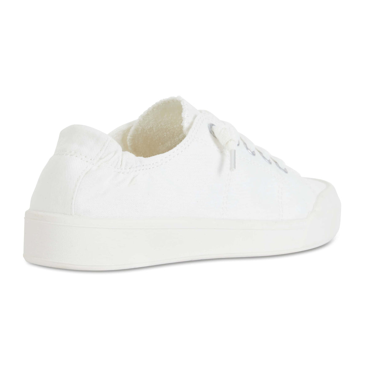 Switch Sneaker in White Canvas