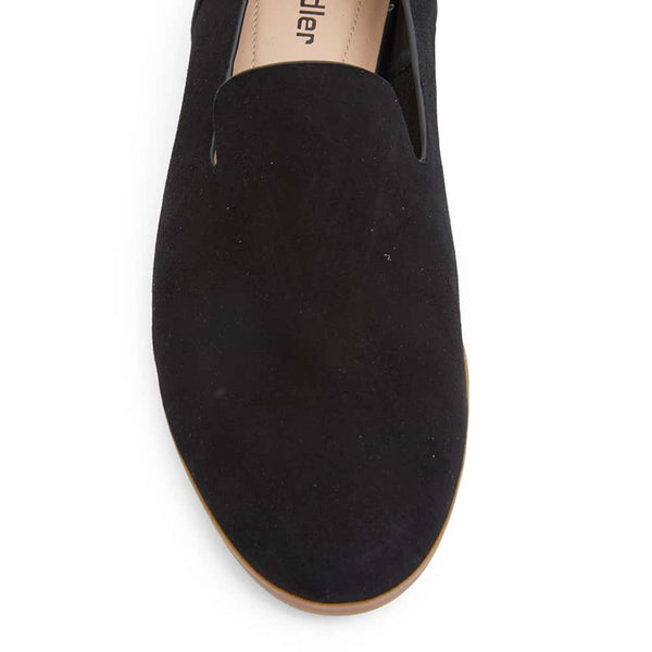 Talbot Loafer in Black Suede